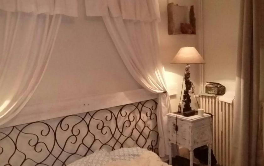 Location de vacances - Appartement à Laignes - Grande chambre
