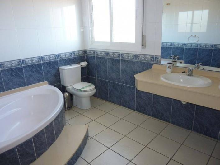 Location de vacances - Villa à L'Ametlla de Mar - salle de bain