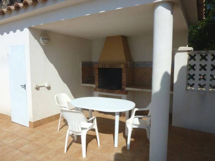 Location de vacances - Villa à L'Ametlla de Mar - barbecue