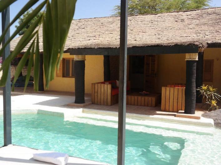 Location de vacances - Villa à Somone - vue de la terrasse à partir du solarium