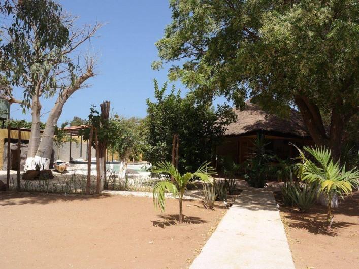 Location de vacances - Villa à Somone - entrée de la villa
