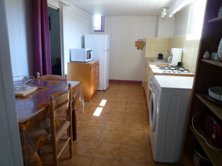Location de vacances - Gîte à Casteljau - cuisine