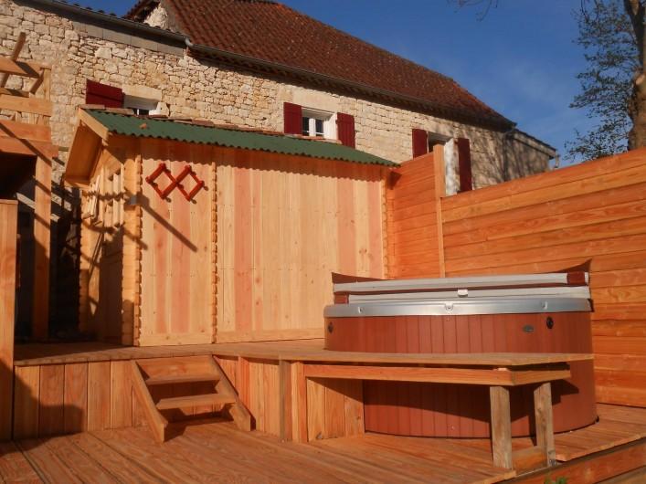 """Location de vacances - Chambre d'hôtes à Tournon-d'Agenais - L""""espace Bien-être"""