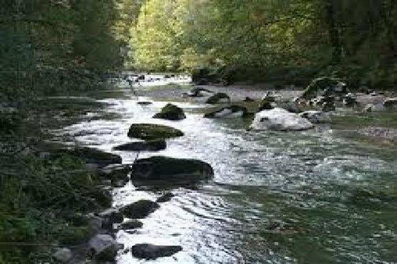 Location de vacances - Maison - Villa à Cusy - Rivière le Chéran (pêche et baignade) à 2 km