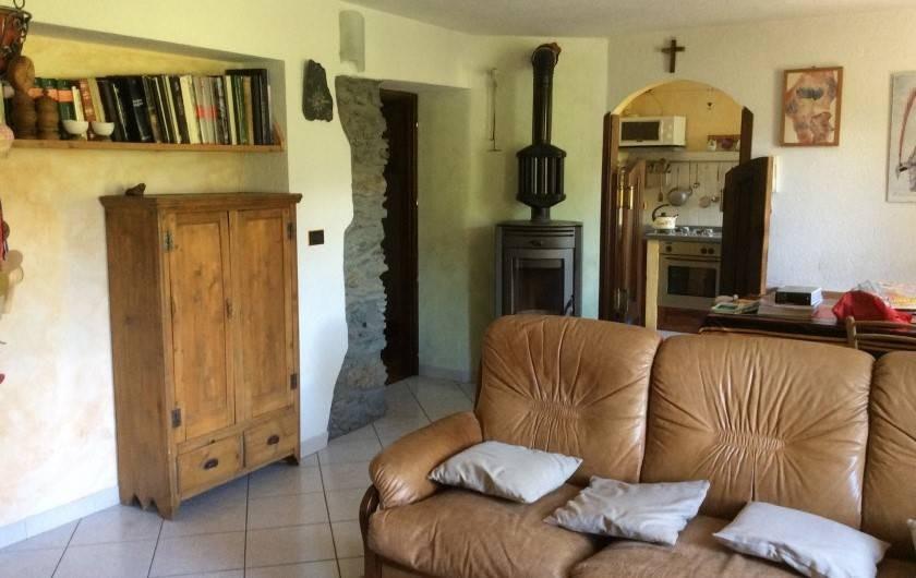 Location de vacances - Appartement à Valgrisenche