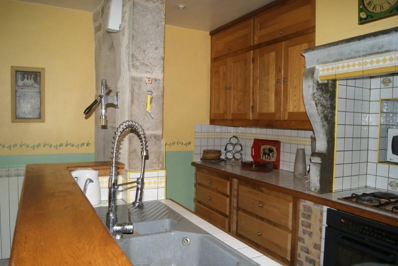 Location de vacances - Appartement à Barretaine - le coin cuisine