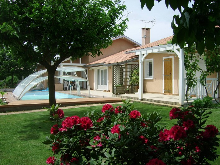 Location de vacances - Maison - Villa à Soorts-Hossegor - Au premier plan votre location