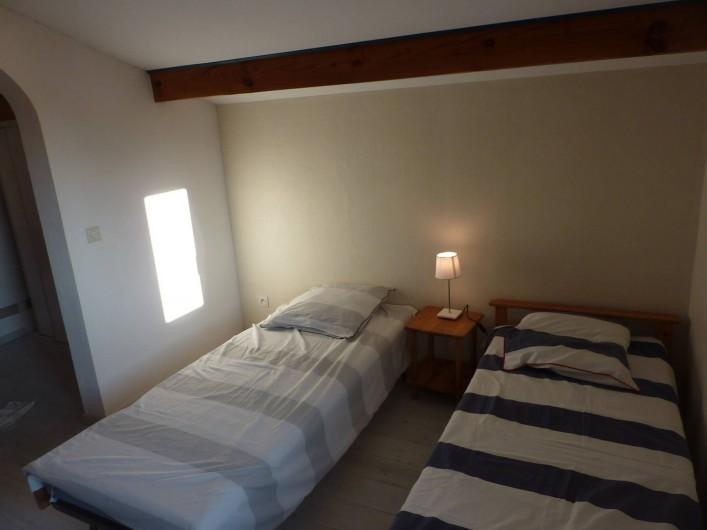 Location de vacances - Maison - Villa à Soorts-Hossegor - Mezzanine avec 2 lits de 80