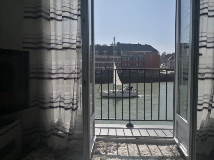 Location de vacances - Appartement à Saint-Valery-en-Caux - L'aménagement de la promenade du bord de mer