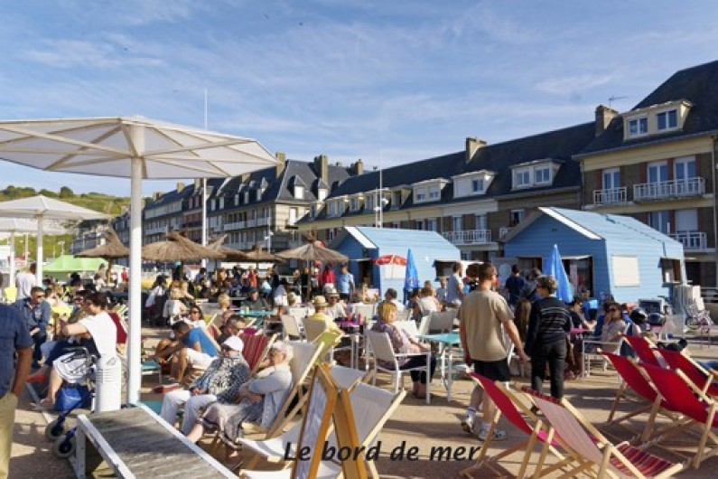 Location de vacances - Appartement à Saint-Valery-en-Caux - Bord de mer