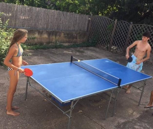 Location de vacances - Gîte à Gargas - Tennis de table