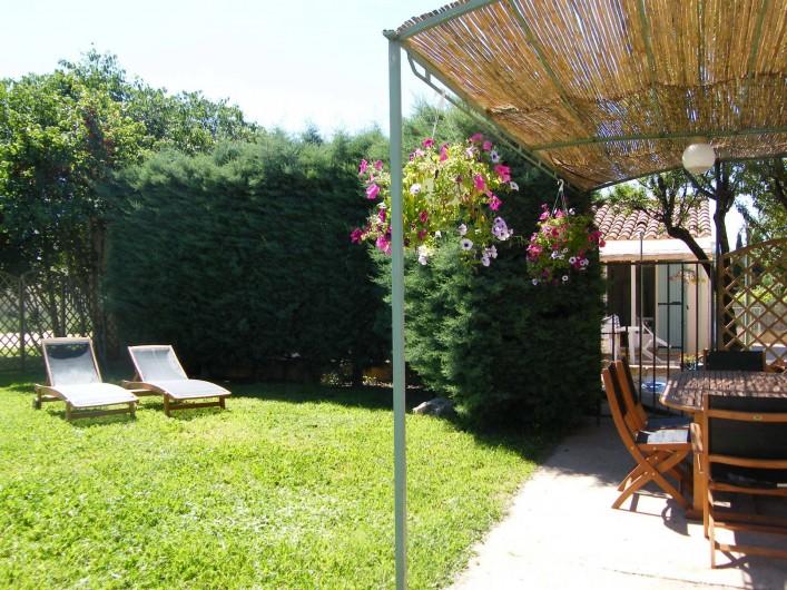 Location de vacances - Gîte à Gargas - Jardin Sauge