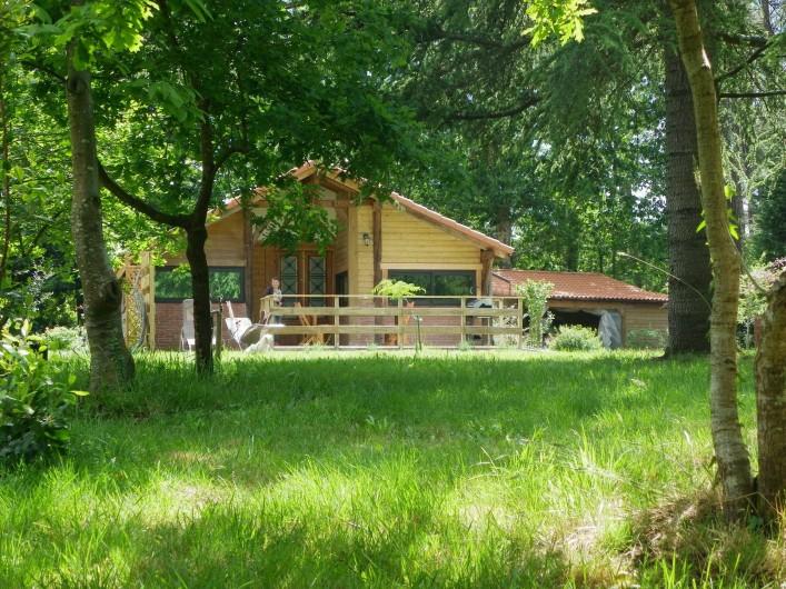 Location de vacances - Gîte à Magescq - vue depuis la forêt