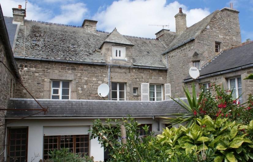 Location de vacances - Maison - Villa à Barfleur - Maison, côté cour