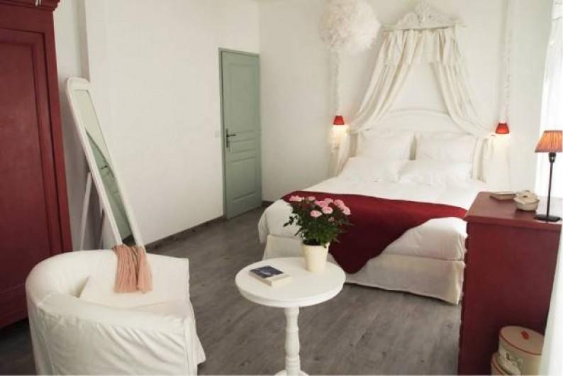 Location de vacances - Chambre d'hôtes à Saint-Saturnin-lès-Avignon - Chambre Cardinale