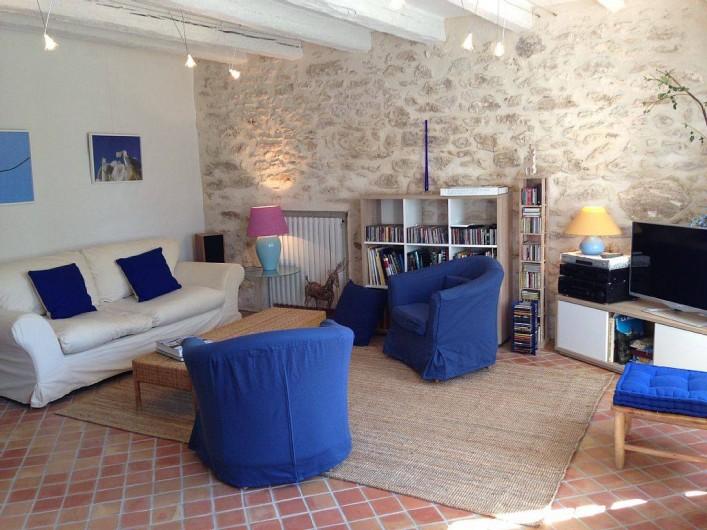 Location de vacances - Mas à Saint-Rémy-de-Provence - Salon