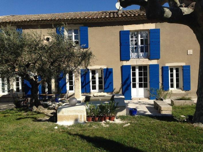 Location de vacances - Mas à Saint-Rémy-de-Provence - extérieure