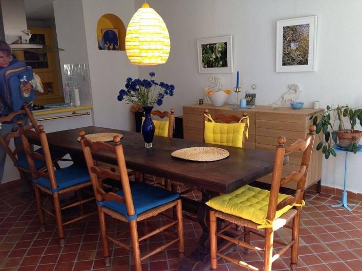 Location de vacances - Mas à Saint-Rémy-de-Provence - Salle à manger