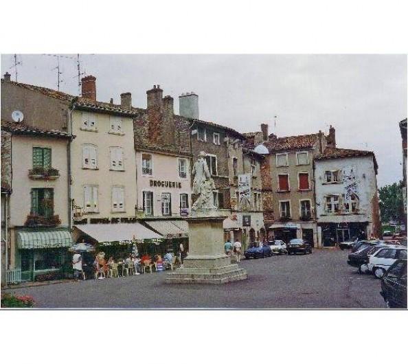 Location de vacances - Péniche à Mâcon - Pont de Vaux