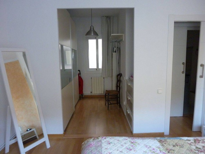 Location de vacances - Appartement à Barcelone - Dressing