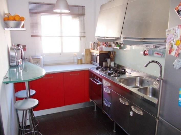 Location de vacances - Appartement à Barcelone - Cuisine indépendante
