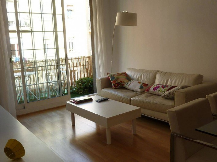 Location de vacances - Appartement à Barcelone - Salon