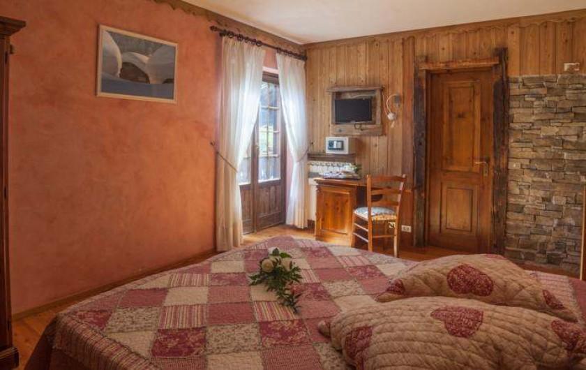 Location de vacances - Hôtel - Auberge à Rhêmes-Notre-Dame - Chambre pour 2