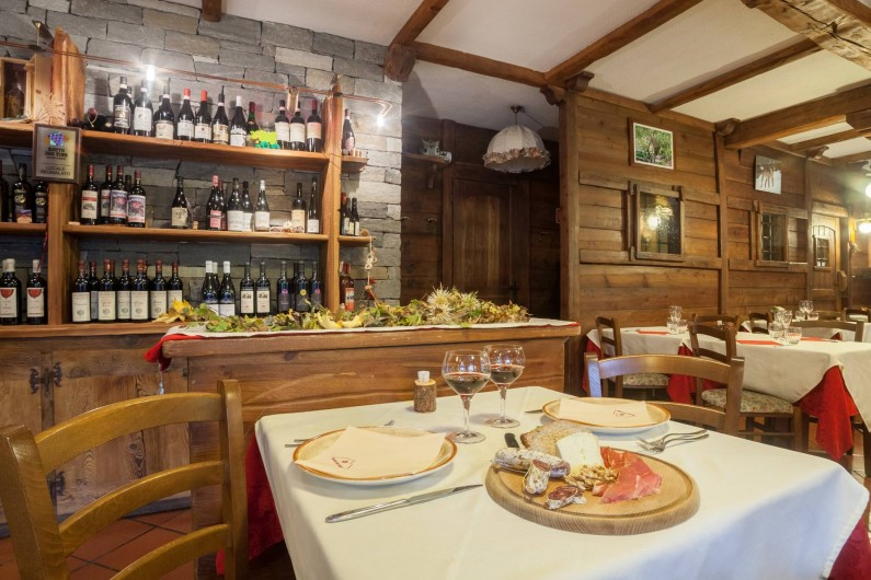 Location de vacances - Hôtel - Auberge à Rhêmes-Notre-Dame - Restaurant, vins du Val d'Aoste