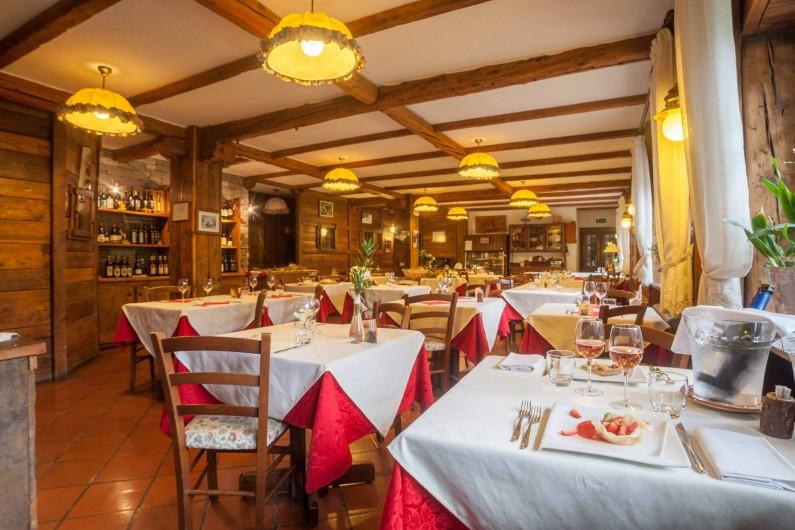 Location de vacances - Hôtel - Auberge à Rhêmes-Notre-Dame - Restaurant