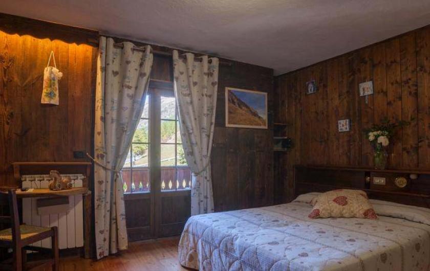 Location de vacances - Hôtel - Auberge à Rhêmes-Notre-Dame - Chambre