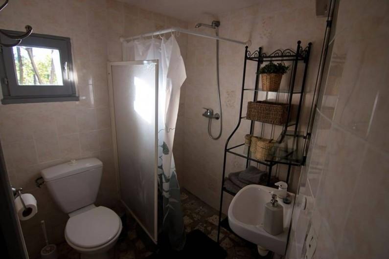 Location de vacances - Gîte à Mollans-sur-Ouvèze - Salle de bain