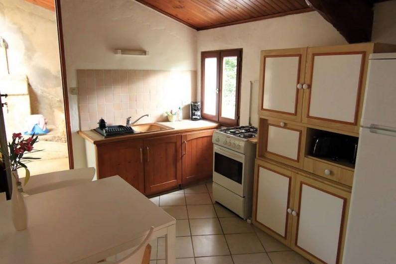 Location de vacances - Gîte à Mollans-sur-Ouvèze - Cuisine équipée
