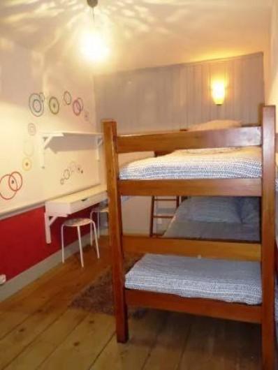 Location de vacances - Gîte à Prénovel - lits superposés à l'étage