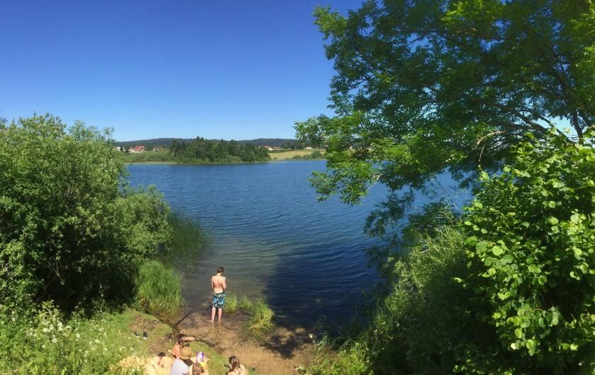 Location de vacances - Gîte à Prénovel - Lac de Chalain