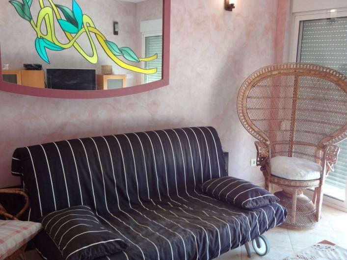 Location de vacances - Appartement à Cullera - canapé salon 15 eme etage