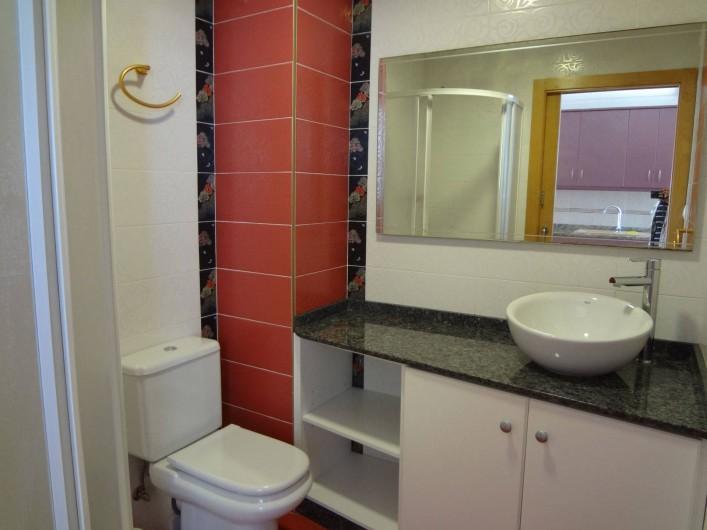 Location de vacances - Appartement à Cullera - 1 ere salle de bain 13 eme