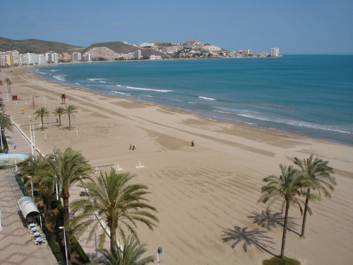 Location de vacances - Appartement à Cullera - Photos de la plage de Cullera