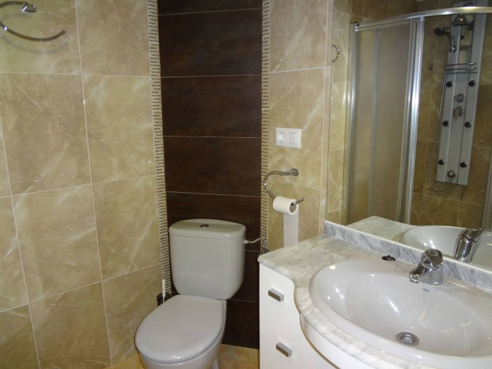 Location de vacances - Appartement à Cullera - 2 eme salle de bain 13 eme