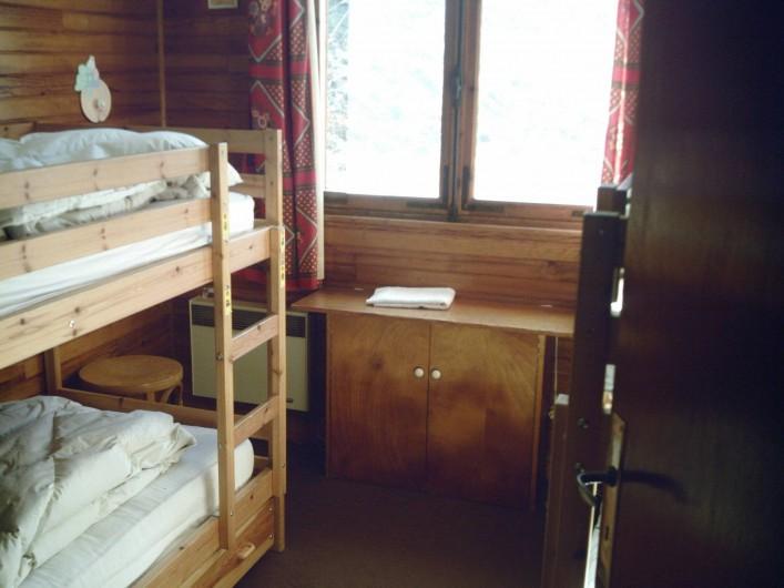 Location de vacances - Chalet à Vars - chambre 3 2 lits superposés