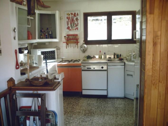 Location de vacances - Chalet à Vars - cuisine toute équipée sixtees