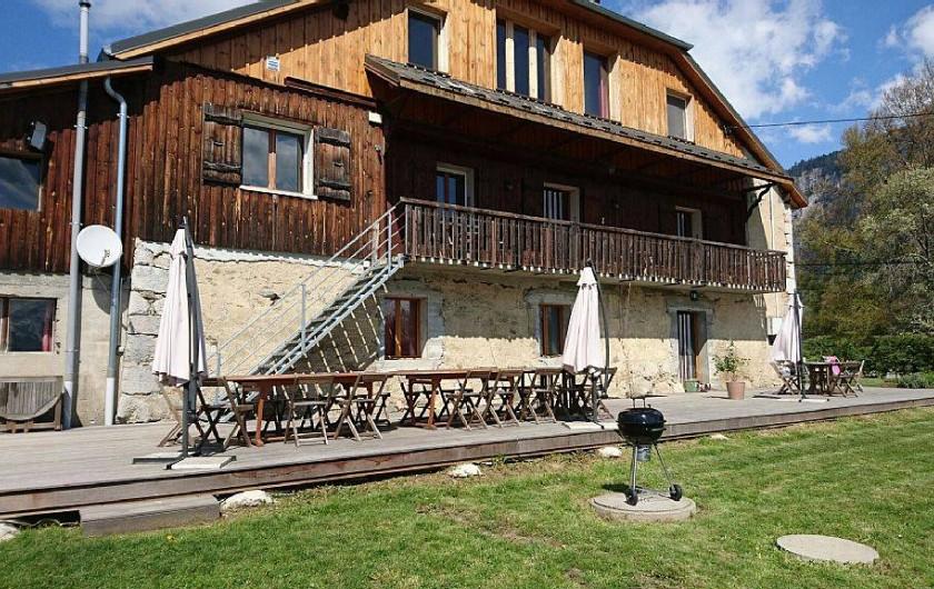 Location de vacances - Chalet à Mieussy