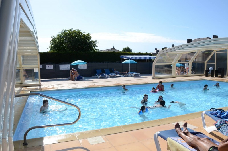 Location de vacances - Bungalow - Mobilhome à Cherrueix - Piscine chauffee