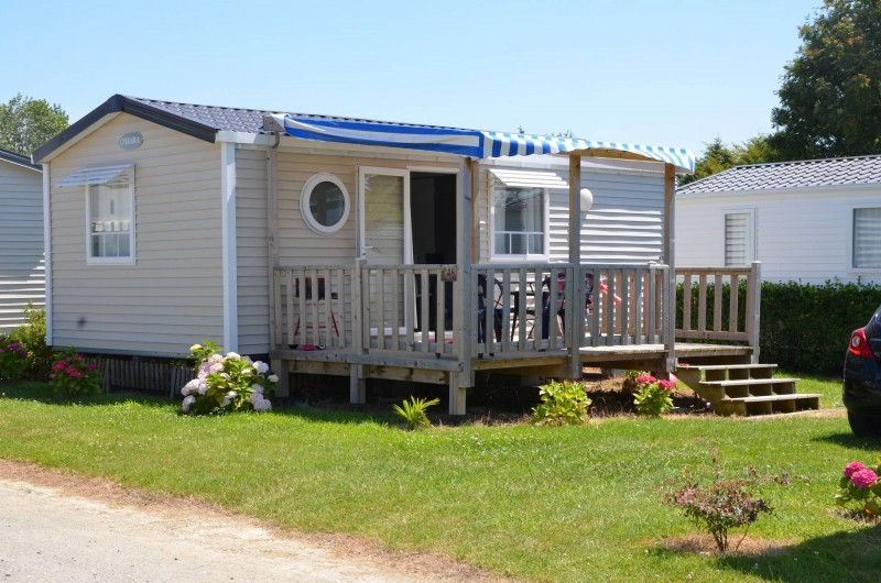 Location de vacances - Bungalow - Mobilhome à Cherrueix - location mobil home tout confort st malo