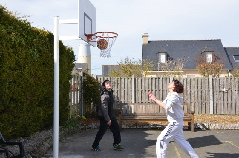 Location de vacances - Bungalow - Mobilhome à Cherrueix - panier de basket