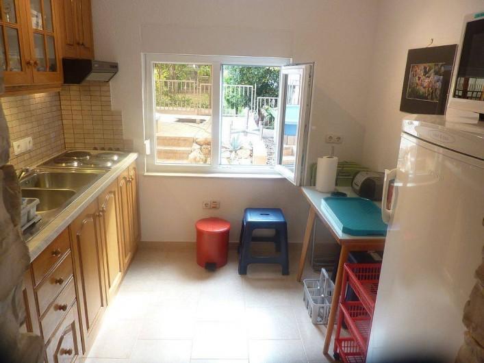 Location de vacances - Appartement à Vodice - Cuisine du rez de chaussée