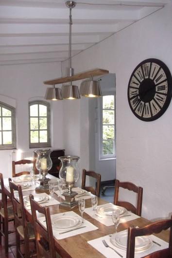Location de vacances - Villa à Saint-Tropez - La Salle a manger