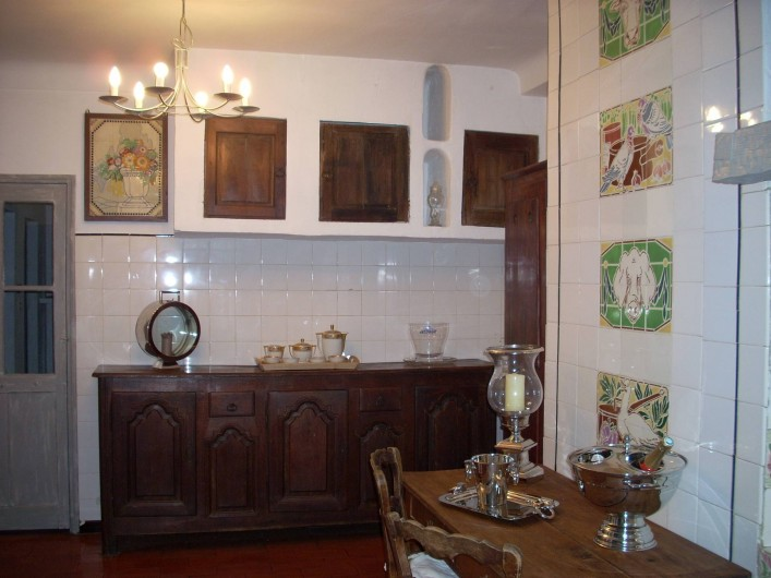 Location de vacances - Villa à Saint-Tropez - La Cuisine