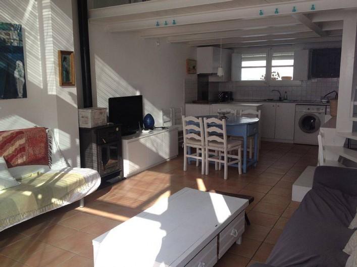 Location de vacances - Appartement à Cadaqués - sejour ensamble