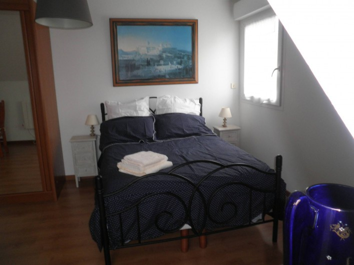 Location de vacances - Chambre d'hôtes à Saint-Josse - chambre lumineuse