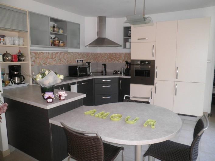 Location de vacances - Chambre d'hôtes à Saint-Josse - coin cuisine